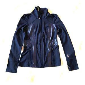 Lorna Jane Black Zip Front Jacket